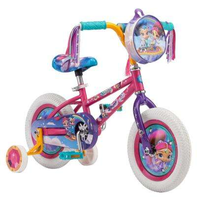 12 in. Girls' Bike for Ages 2-Years to 4-Years in Pink