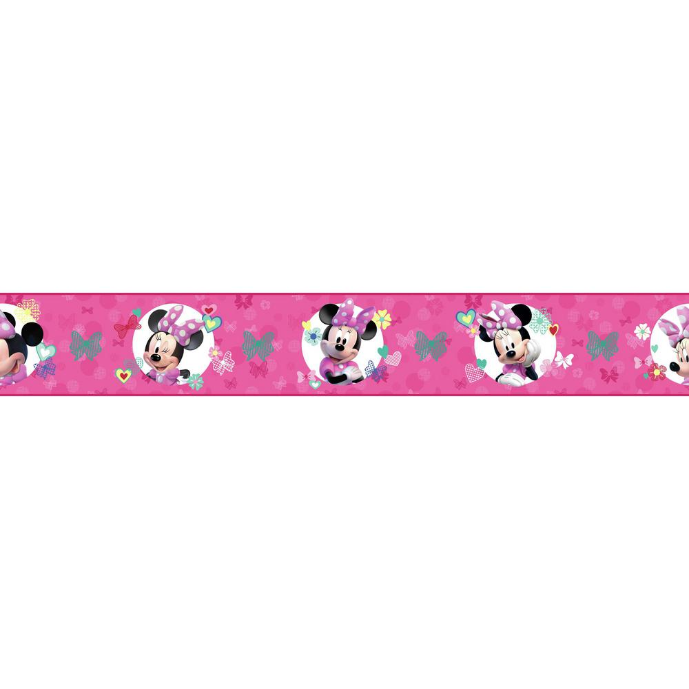 Disney Kids III Disney Minnie Mouse Border