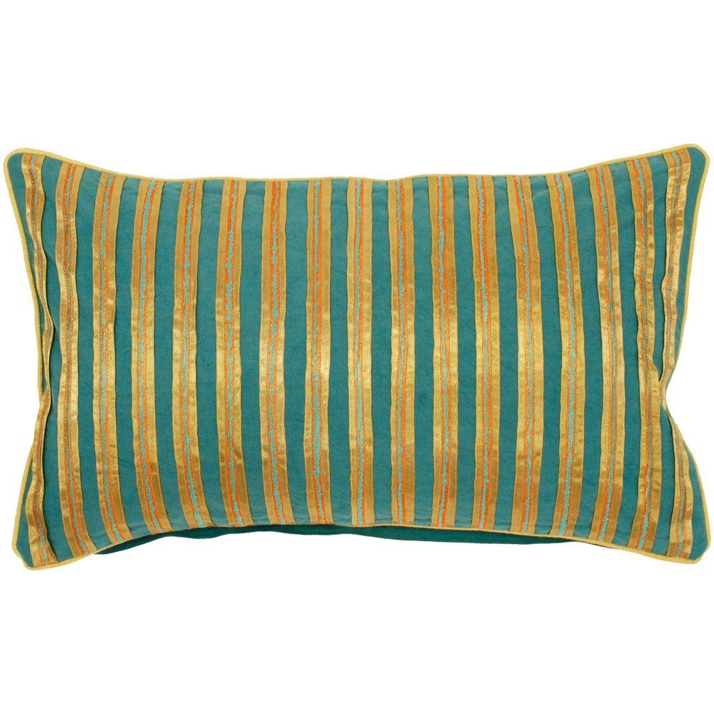Artistic Weavers StripedA 13 in. x 20 in. Decorative Down Pillow