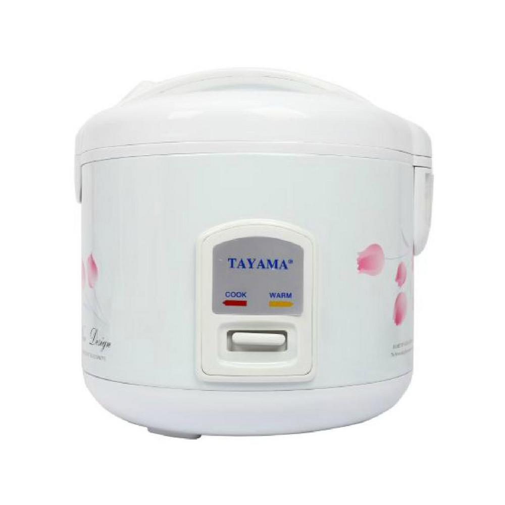Tayama 10-Cup Rice Cooker, White
