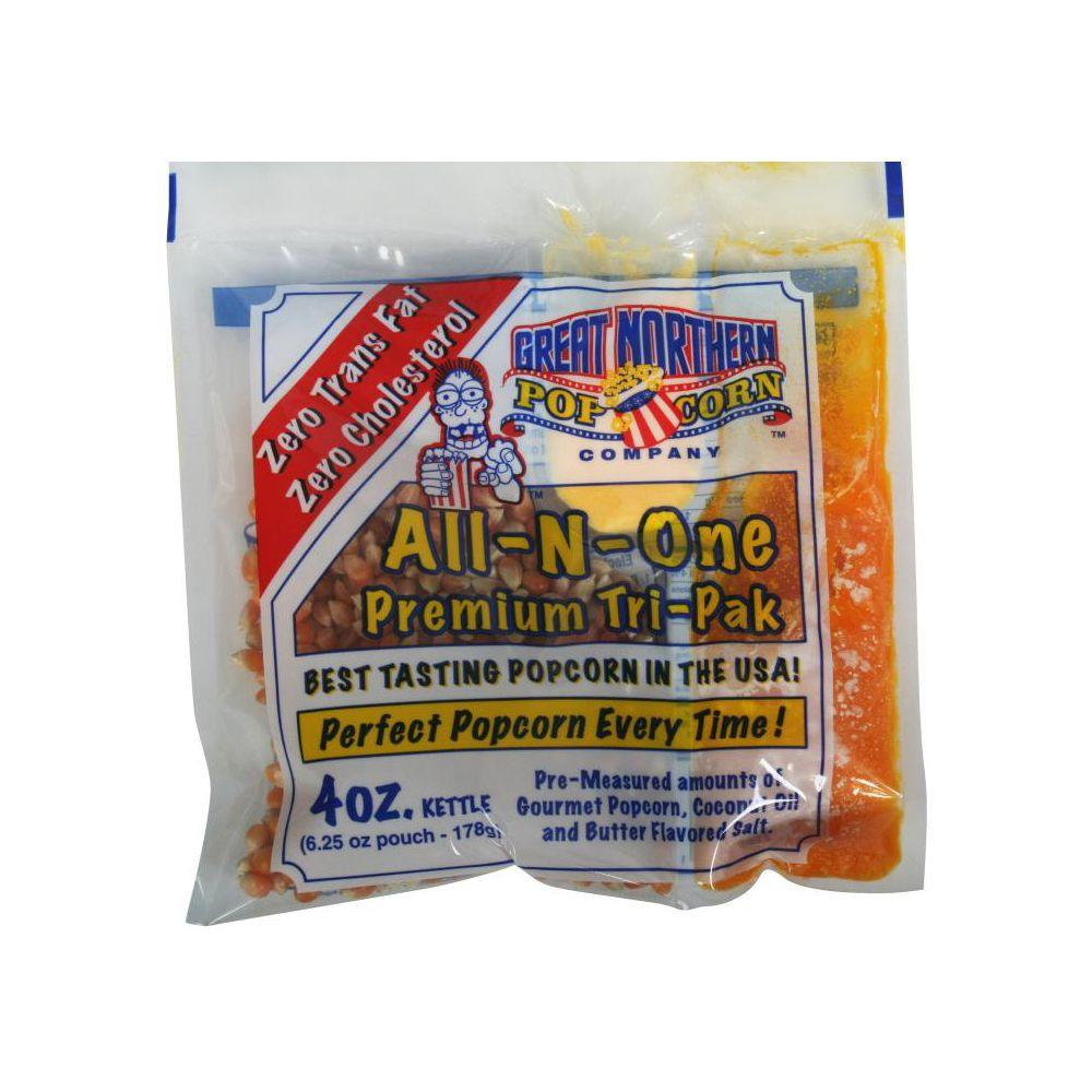 Great Northern 4 oz. All-In-One Popcorn (Pack of 24)