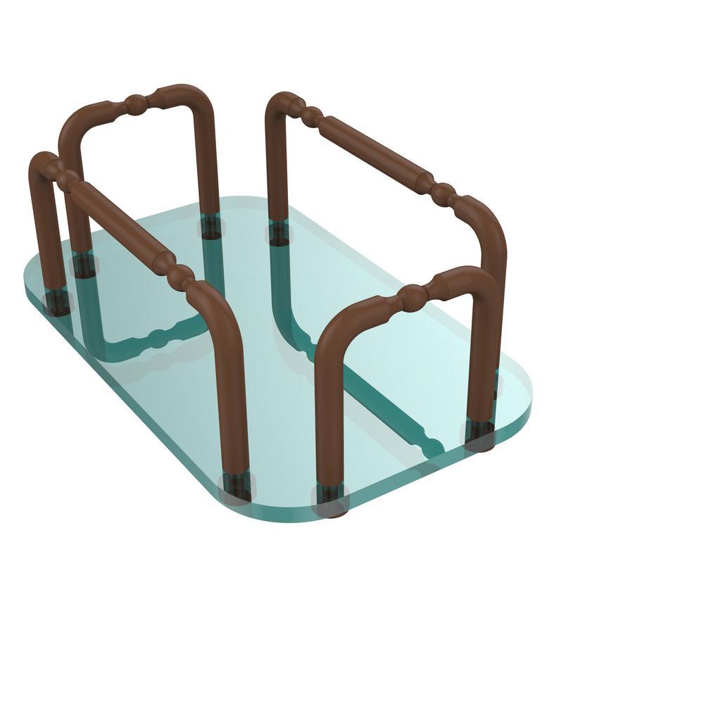 Allied Brass Vanity Top Guest Towel Holder in Antique Bronze-GT-1 ...