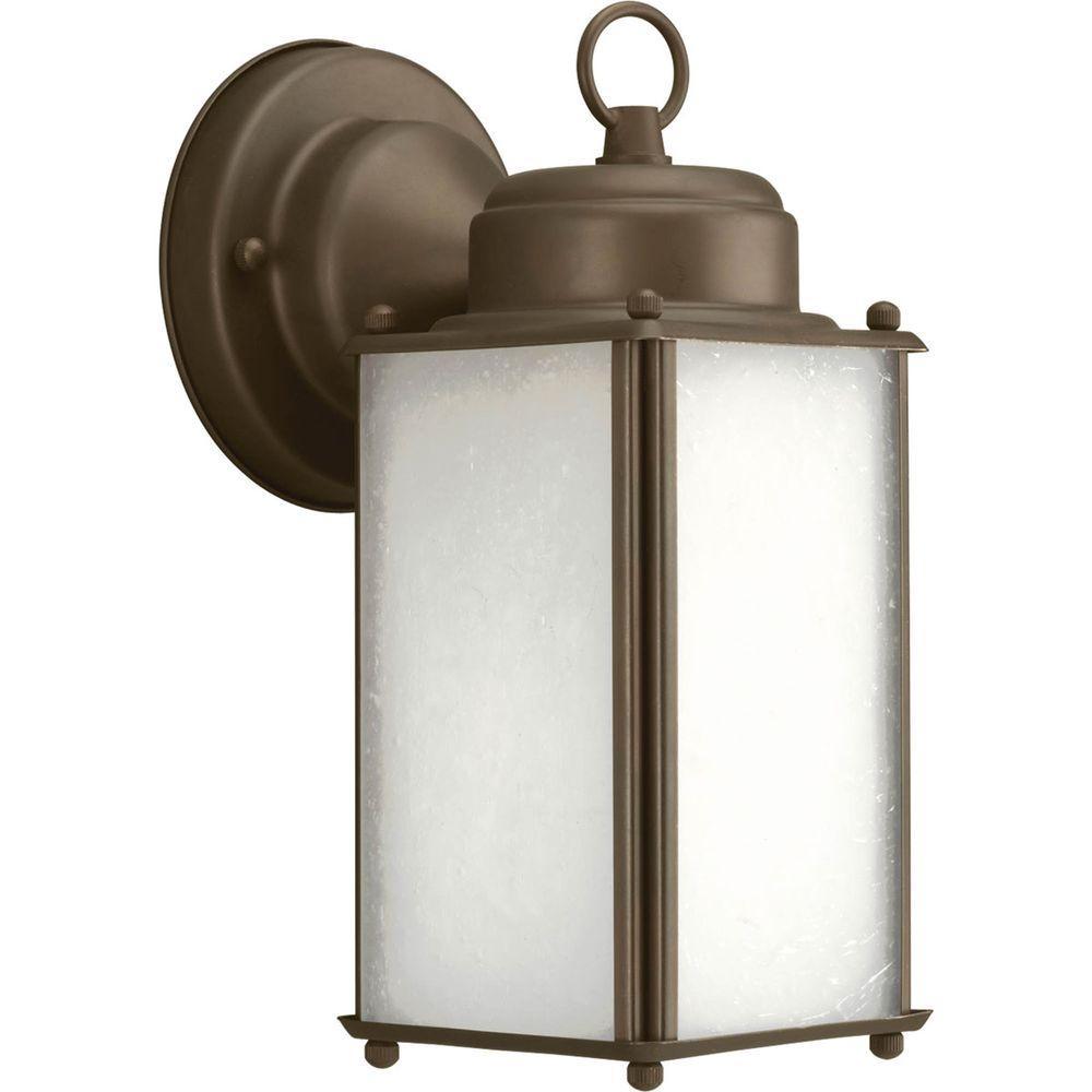 Progress Lighting Roman Coach Collection Wall Mount Outdoor Antique Bronze Wall Lantern
