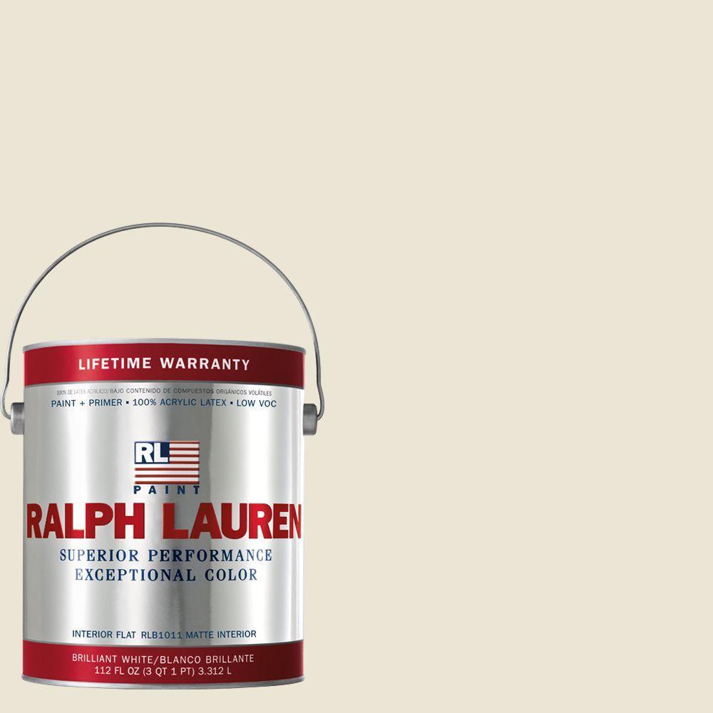 Ralph Lauren 1-gal. Writer's Parchment Flat Interior Paint