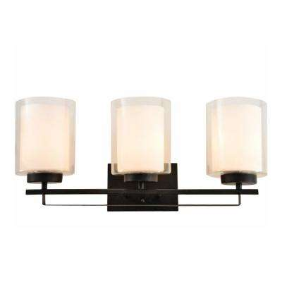 Impala 3-Light Rustic Bronze Bath Light