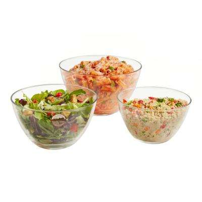 Urban Story MultiSize 3-Piece Glass Bowl Set