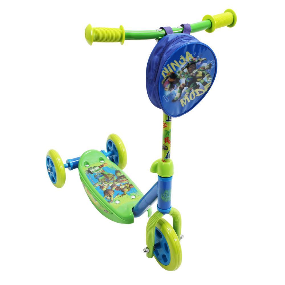 Playwheels Teenage Mutant Ninja Turtles Classic Trike Scooter from Trikes & Pedal Cars