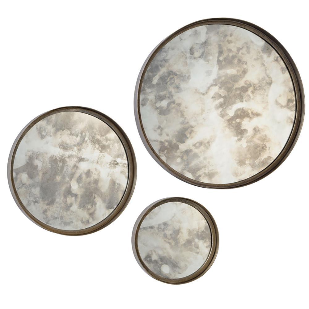 Shire 3-Piece Round Mirror Set