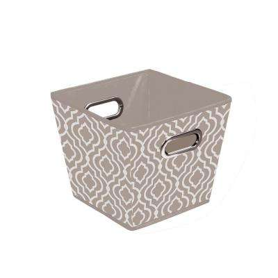 Storage Bin in Moroccan Taupe (3-Pack )