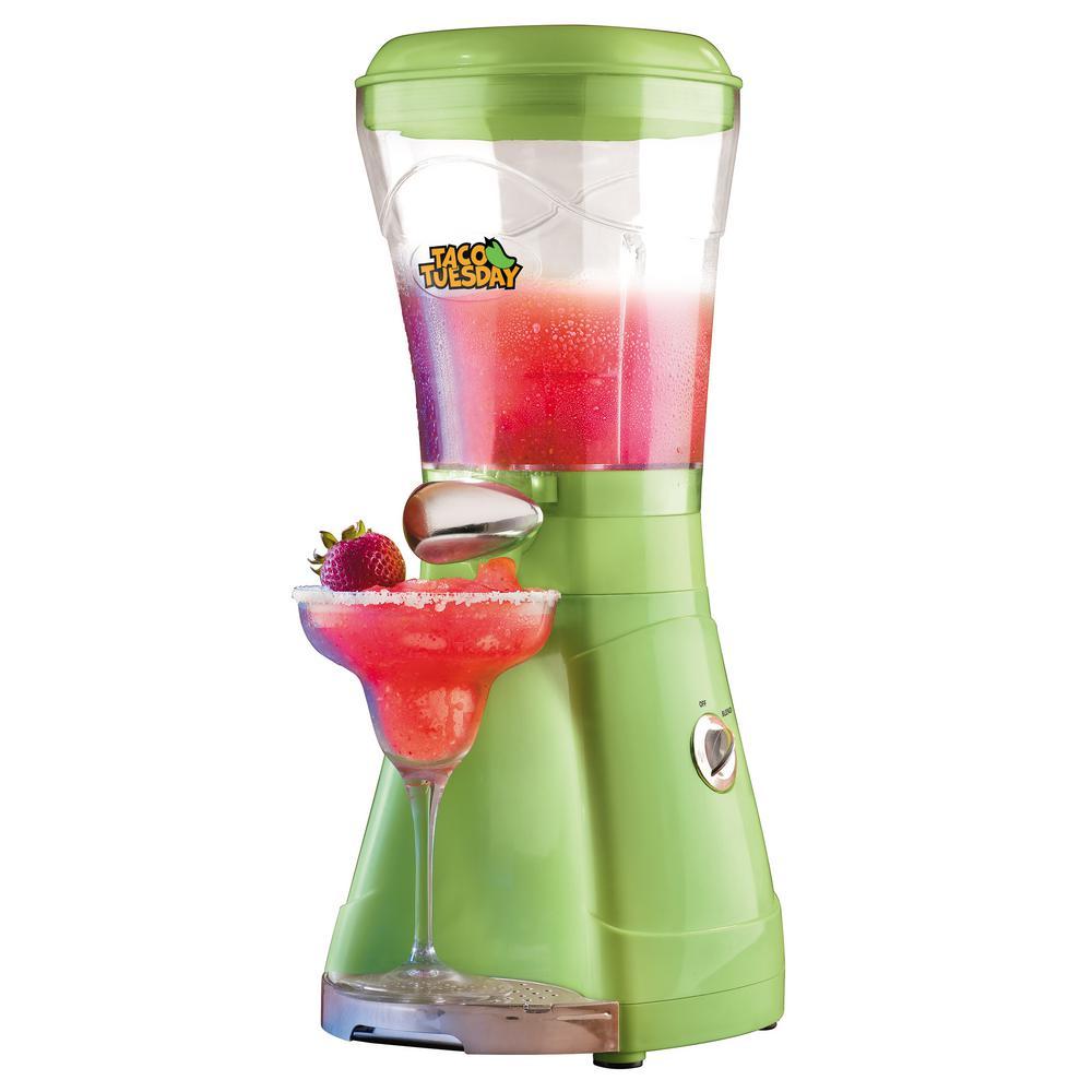 64 oz. Lime Green Margarita and Ice Crusher Slush Maker