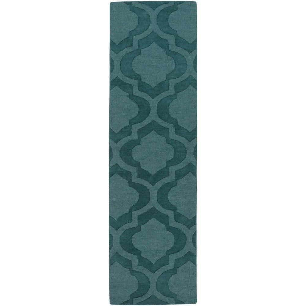 Central Park Kate Teal 2 ft. 3 in. x 8 ft.