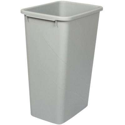 21.63 in. x 15.38 in. x 11.13 in. In Cabinet Replacement Pull Out Trash Can