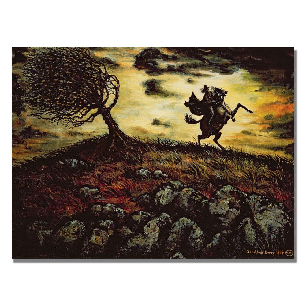 Trademark Fine Art 24 in. x 32 in. The Spectral Horseman, 1994 Canvas Art-DISCONTINUED