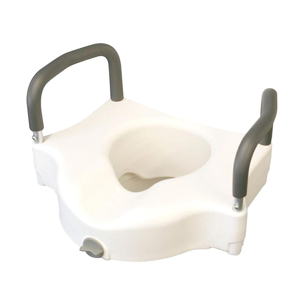 Medline Adjustable Elevated Toilet Seat