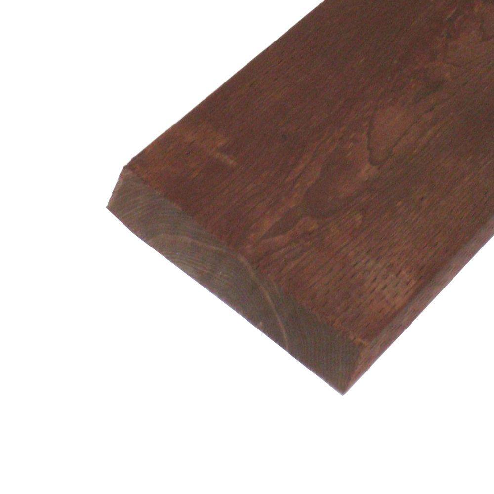 null Pressure-Treated Lumber HF Brown Stain (Common: 2 in. x 12 in. x 10 ft.; Actual: 1.5 in. x 11.25 in. x 120 in.)