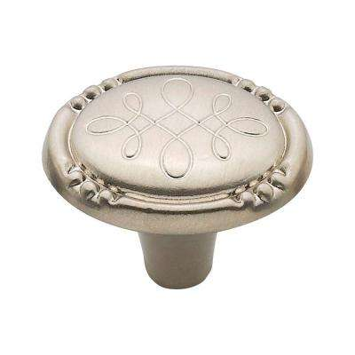 1.25 in. Satin Nickel Silverware Knob