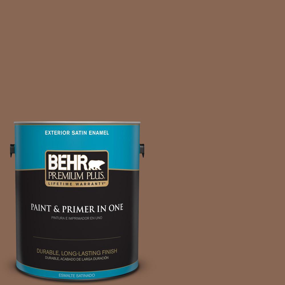 1 gal. #PPU3-17 Clay Pot Satin Enamel Exterior Paint