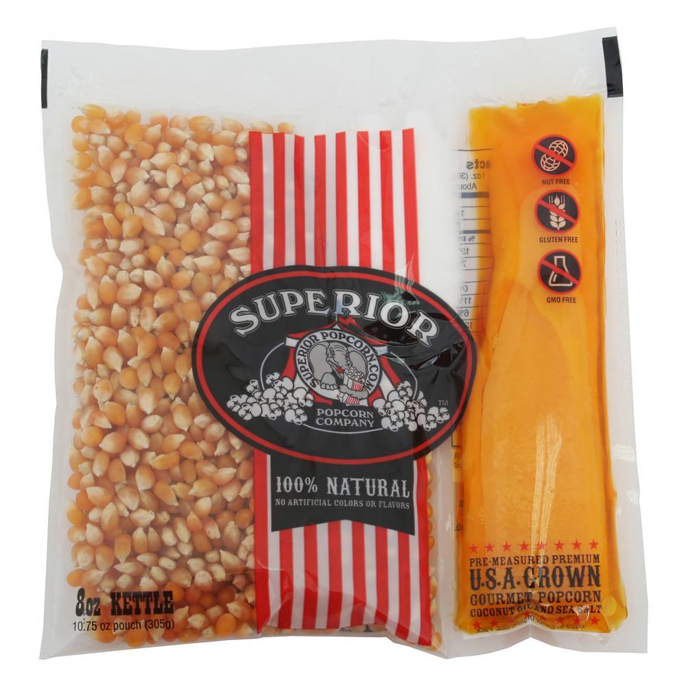 8 oz. Organic Premium Popcorn (24-Pack)