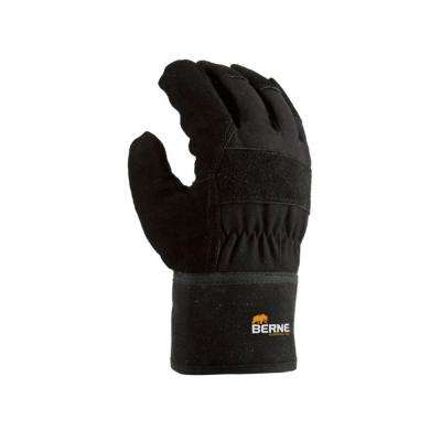 Large Black Thinsulate Heavy Duty Utility Gloves (2-Pack)