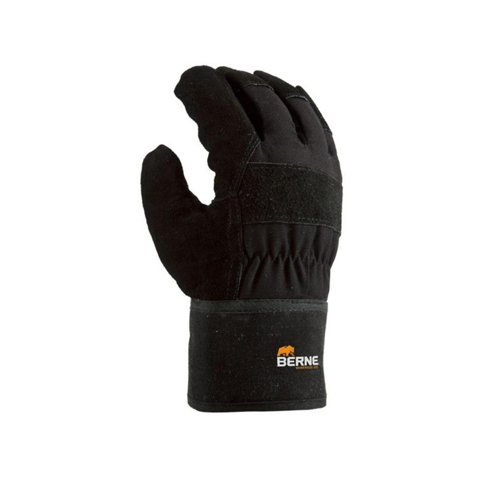 berne 4 xl black thinsulate heavy duty utility gloves 2 pack