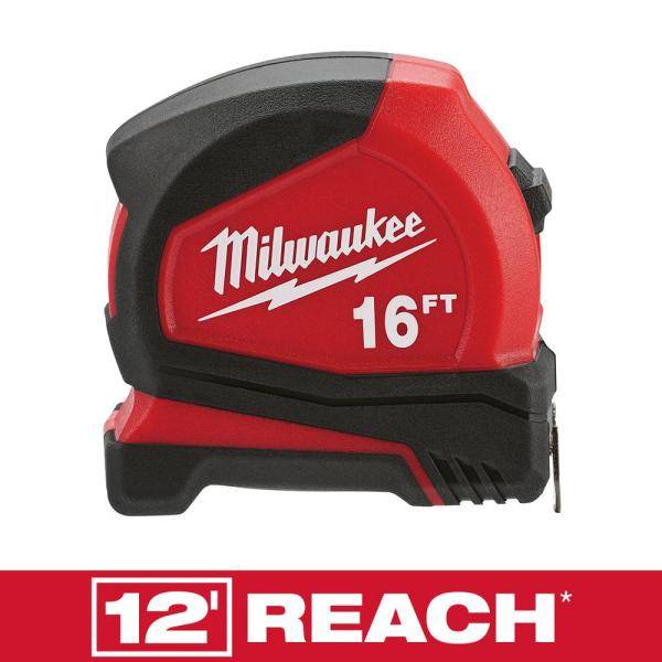 16 ft. Compact Tape Measure