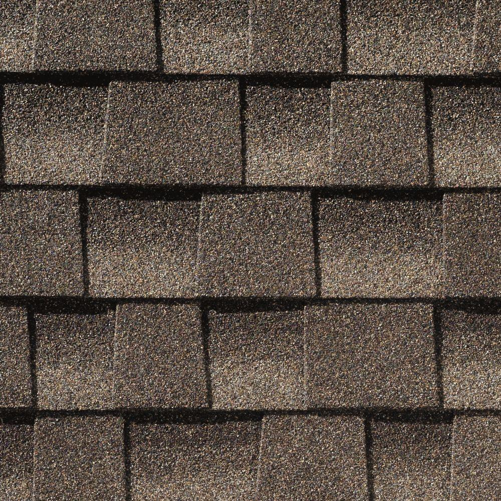 GAF Timberline HD Mission Brown Lifetime Architectural Shingles With  StainGuard (33.3 Sq. Ft.