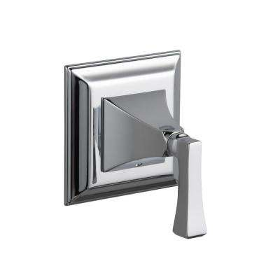Memoirs 1-Handle Stately Volume Control Valve Trim Kit with Deco Lever Handle in Polished Chrome (Valve Not Included)