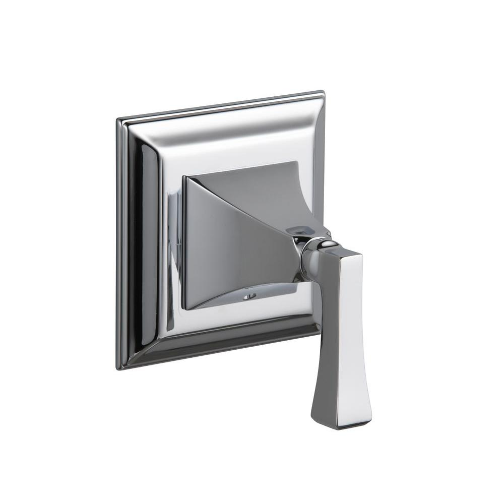KOHLER Memoirs 1-Handle Stately Volume Control Valve Trim Kit with Deco Lever Handle in Polished Chrome (Valve Not Included)