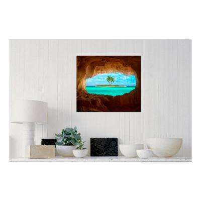 24.00 in. W x 21.00 in. H 'Paradise' by Matt Anderson Gallery Wrap Canvas Wall Art