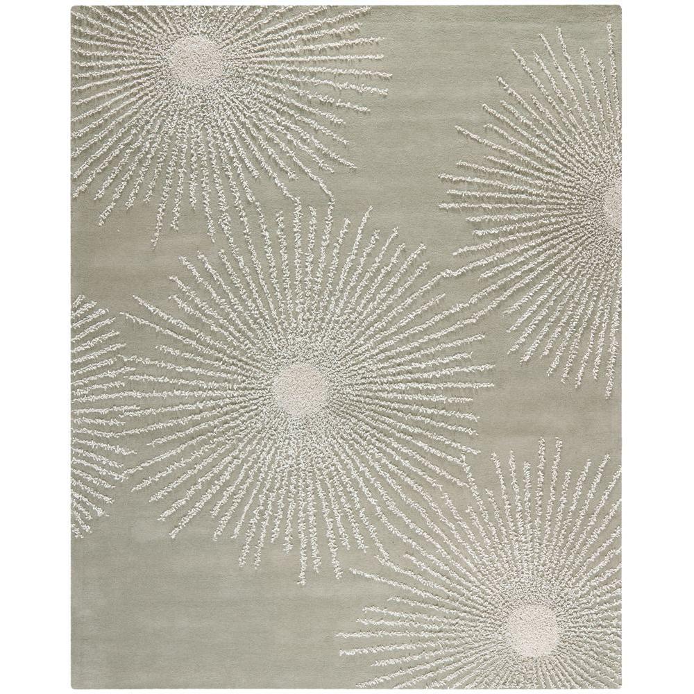 Soho Grey/Ivory Wool 9 ft. 6 in. x 13 ft. 6