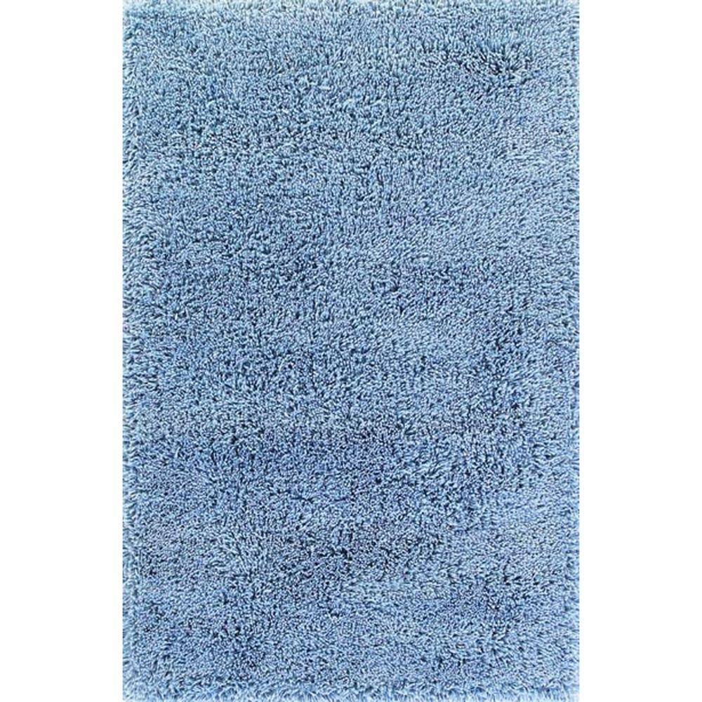 Momeni Fabu Aqua Blue 8 ft. x 10 ft. Area Rug