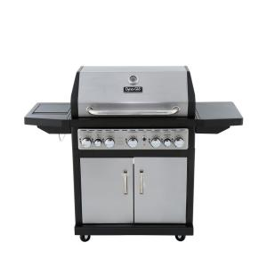 Click here to buy Dyna-Glo 5-Burner Propane Gas Grill with Side Burner and Rotisserie Burner by Dyna-Glo.