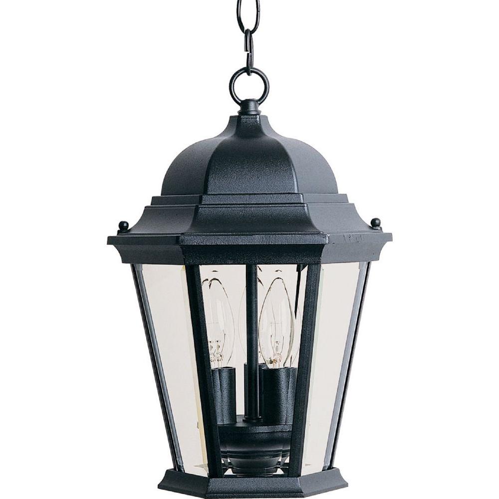 Maxim Lighting Westlake 3 Light Black Outdoor Hanging Lantern
