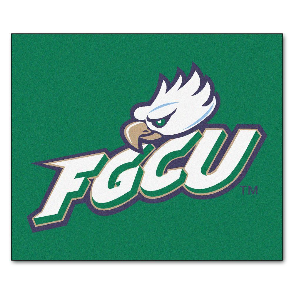 Fanmats Ncaa Florida Gulf Coast University Green 5 Ft X 6