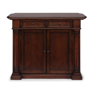 HOMESTYLES Beacon Hill Cherry Finished Solid Wood Top ...