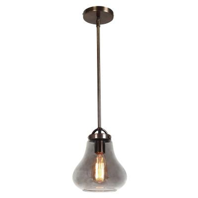 Flux 1-Light Distressed Bronze Pendant