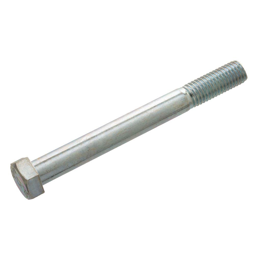 Crown Bolt 3/8 in. x 3 in. Zinc Hex Bolt (25-Pack)