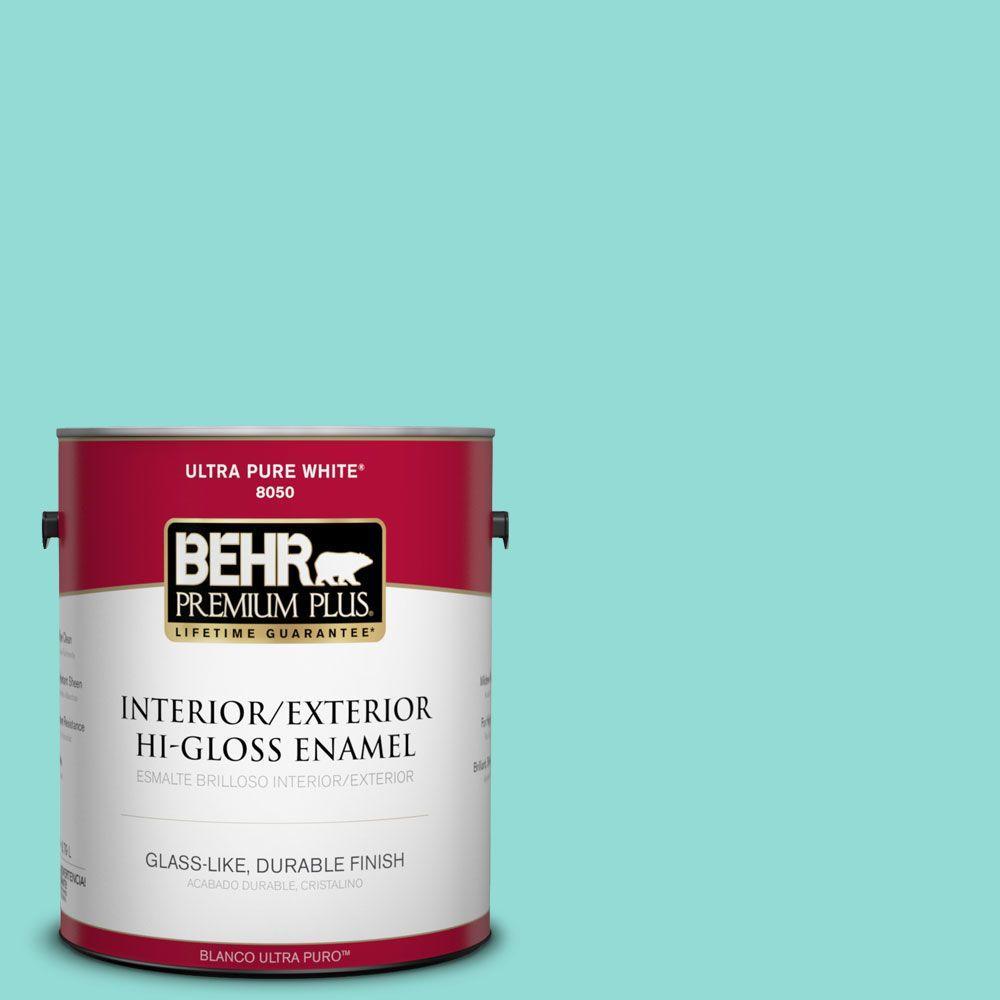 1-gal. #490A-3 Sweet Rhapsody Hi-Gloss Enamel Interior/Exterior Paint