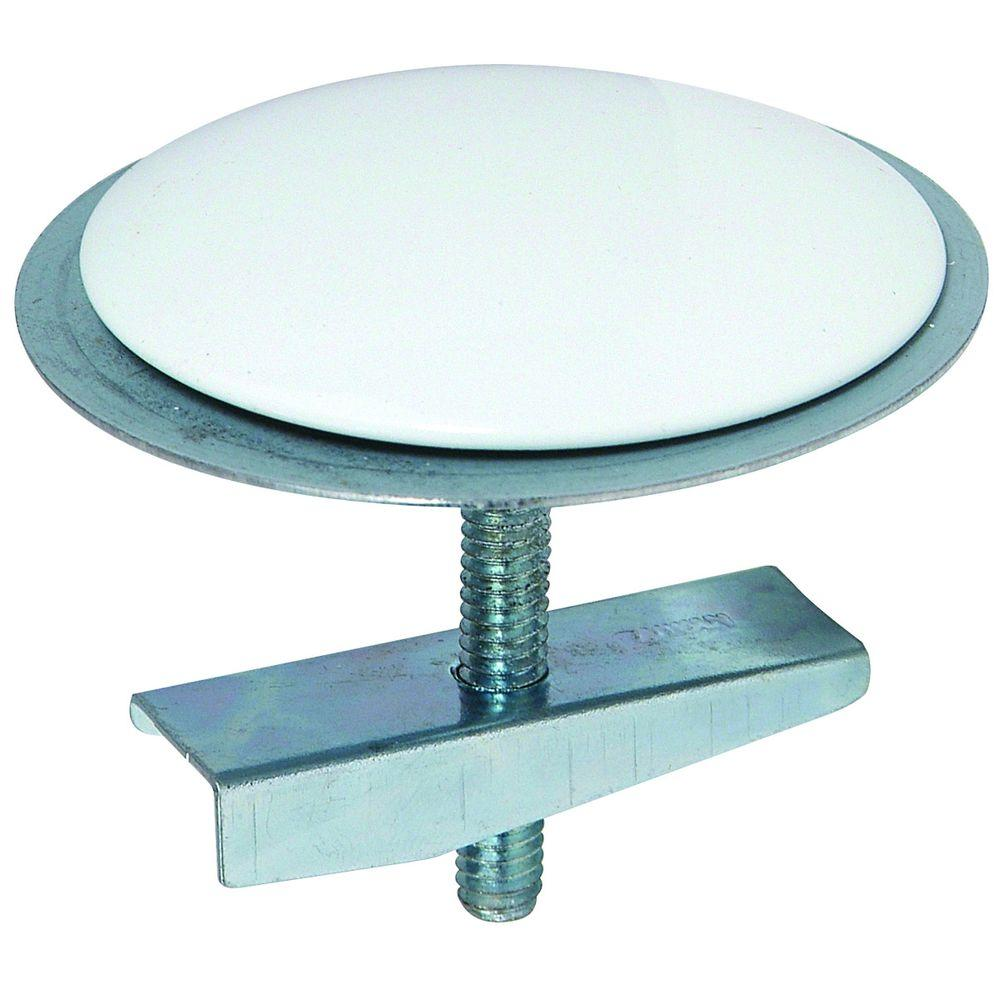2 in. Diameter Sink Hole Cover with Bolt and Wing Nut