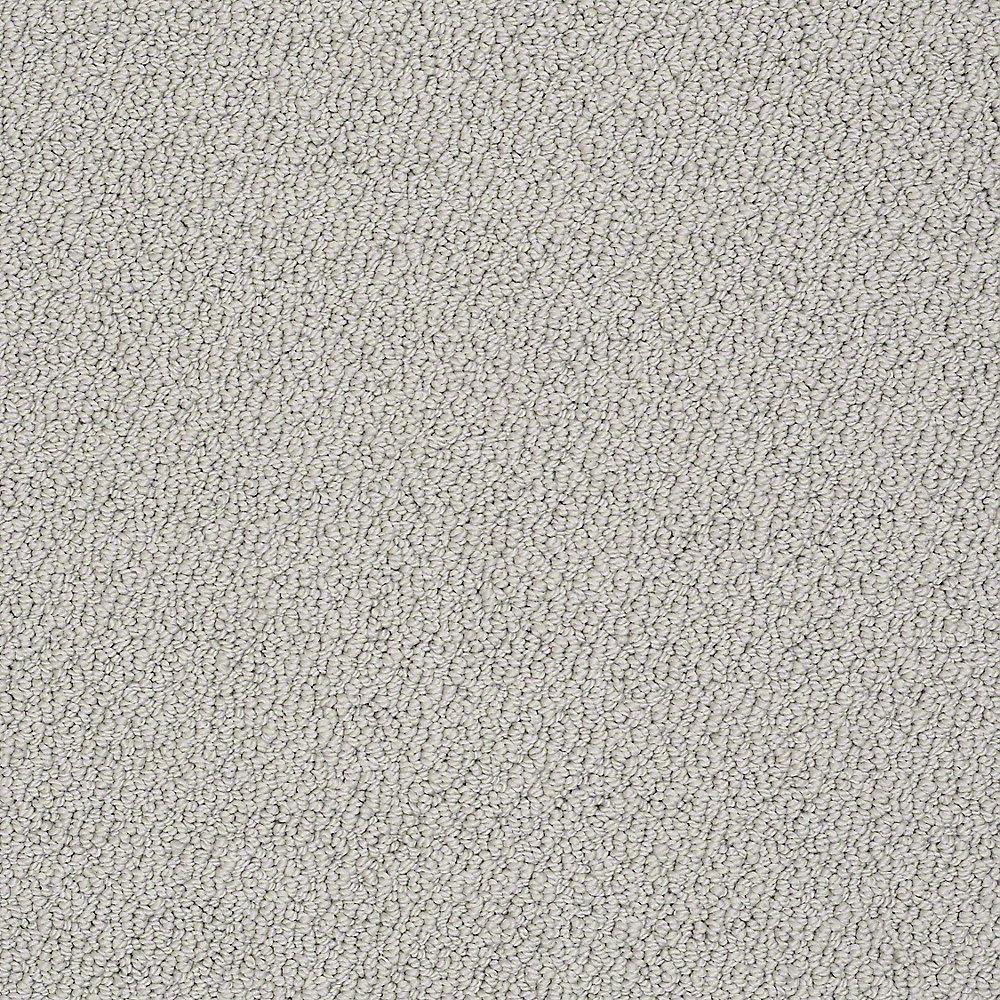 Carpet Sample - Treasure - In Color Arctic Mist 8 in. x 8 in