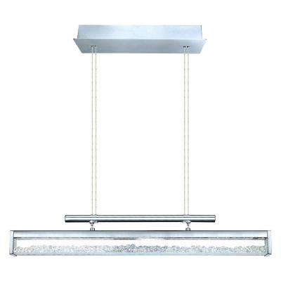 Cardito 1 4-Light Chrome LED Pendant