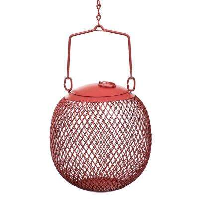 Red Seed Ball Wild Bird Feeder