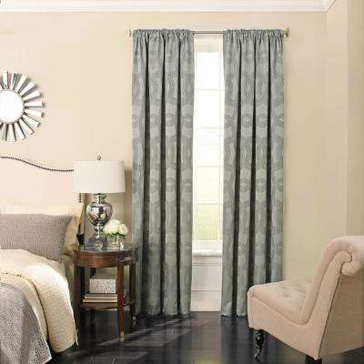 home curtain rod panel garden softline product shipping sahara free inch curtains pocket on