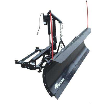 Winter Wolf 88 in. x 26 in. Snow Plow with 2-Point Custom Mount and Actuator Lift System