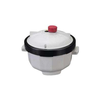 Plastic White Microwave Tender Cooker