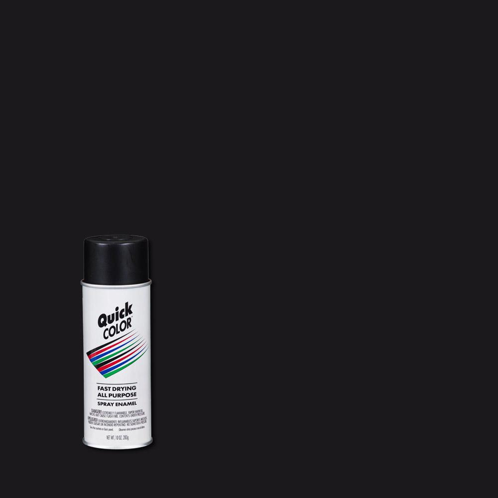 Flat Black General Purpose Spray Paint