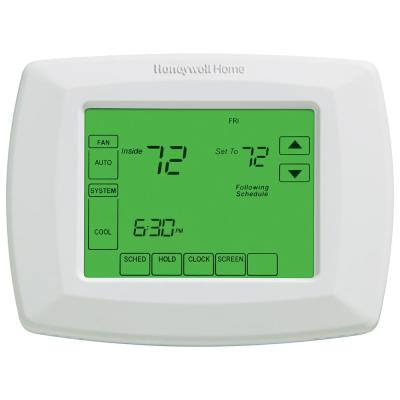 7-Day Universal Programmable Thermostat with Touchscreen Display