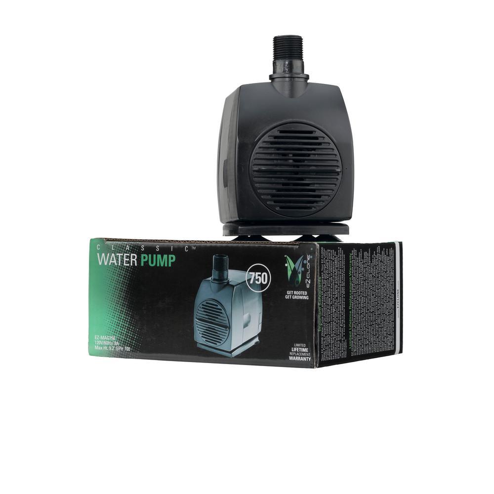 Aeroponic Mag 750 Water Pump (700 GPH)