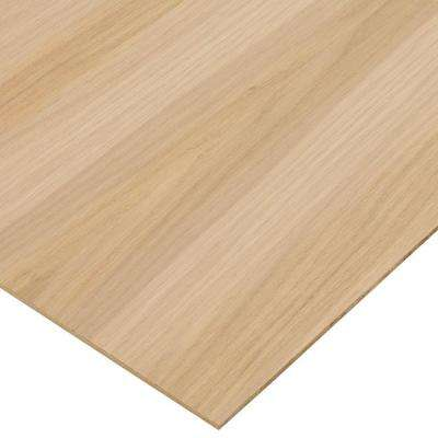 1/4 in. x 4 ft. x 4 ft. PureBond White Oak Plywood Project Panel (Free Custom Cut Available)