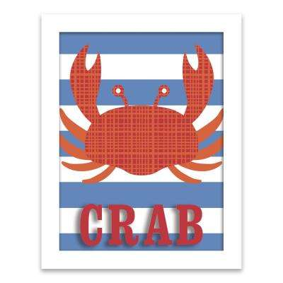 """Crab"" by Lot26 Studio Framed Shadowbox Wall Art"